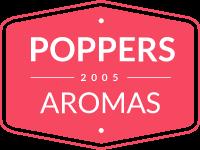 logo poppers aromas